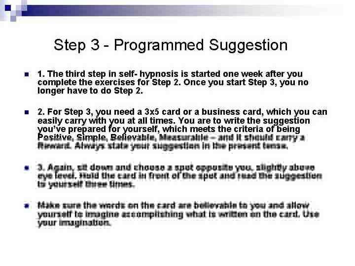 Qu'est-ce que l'auto-hypnose et comment aide-t-elle à fixer des objectifs ?